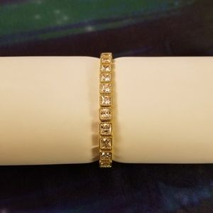Judith Ripka Jewelry - Judith Ripka Princess Diamonique Sterling Bracelet